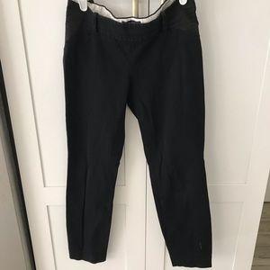 J crew Minnie maternity pants black